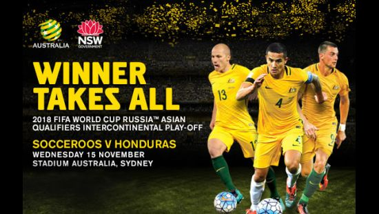 SOCCEROOS SQUAD NAMED FOR CRUCIAL HONDURAS PLAY-OFF