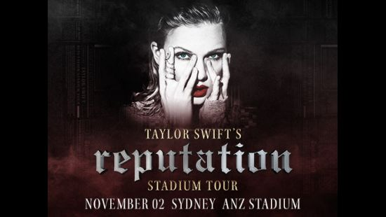 …READY FOR IT? TAYLOR SWIFT RETURNS TO ANZ STADIUM IN 2018