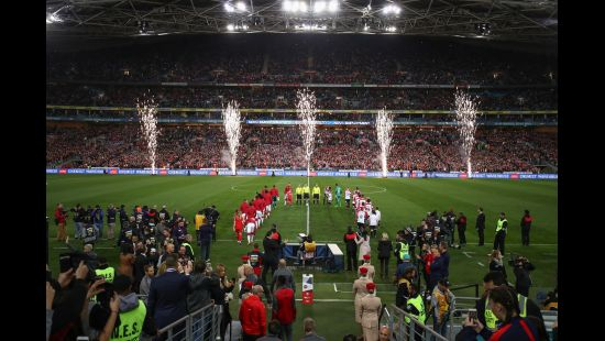 ANZ STADIUM'S ARSENAL IN SYDNEY WEEK SHORTLISTED FOR EVENT OF THE YEAR