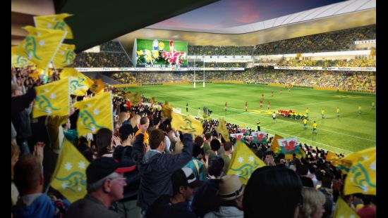 NSW GOVERNMENT CONFIRMS $810 MILLION REDEVELOPMENT OF ANZ STADIUM INTO WORLD-CLASS RECTANGULAR STADI