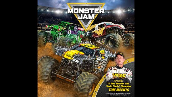 MONSTER JAM MADNESS RETURNS TO ANZ STADIUM