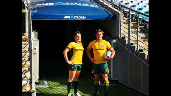 WALLABIES AND WALLAROOS TO PLAY HISTORIC DOUBLE-HEADER V NEW ZEALAND AT ANZ STADIUM THIS AUGUST