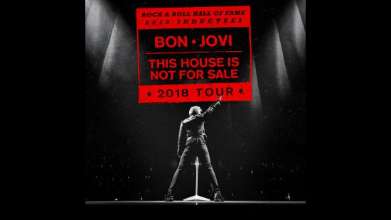 ROCK & ROLL HALL-OF-FAMERS BON JOVI BRINGING THIS HOUSE IS NOT FOR SALE TOUR TO ANZ STADIUM
