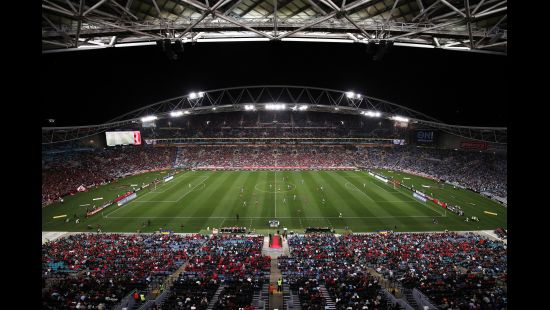 SYDNEY DERBY XX TO LIGHT UP ANZ STADIUM IN THE COUNTDOWN TO CHRISTMAS