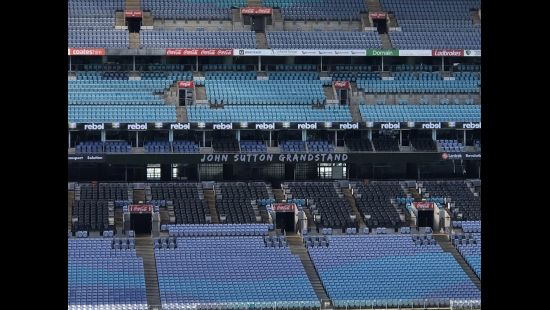 ANZ STADIUM EASTERN GRANDSTAND RENAMED THE JOHN SUTTON GRANDSTAND FOR SATURDAY'S CLASH WITH THE EELS