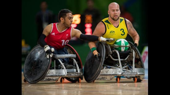 LIKE A BATT OUT OF HELL: THE WHEELCHAIR RUGBY MARVEL WHO WILL CAPTAIN HIS COUNTRY AT THE WORLD CHAMP