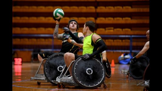 HOW THE YOUNGEST STEELER TURNED PERSONAL TRAGEDY INTO A WHEELCHAIR RUGBY TRIUMPH