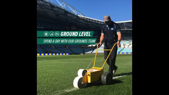 GROUND LEVEL: SPEND AN NRL EVENT DAY WITH THE ANZ STADIUM GROUNDS TEAM