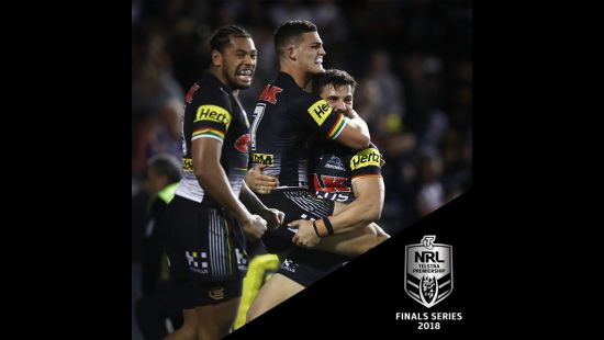 PANTHERS TO HOST WARRIORS IN NRL ELIMINATION FINAL AT ANZ STADIUM SATURDAY 8 SEPTEMBER