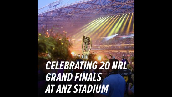 CELEBRATING 20 YEARS OF NRL GRAND FINALS