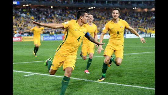 SOCCEROOS COACH GRAHAM ARNOLD CALLS ON FOOTBALL FANS TO GIVE TIM CAHILL A ROUSING FAREWELL AGAINST L