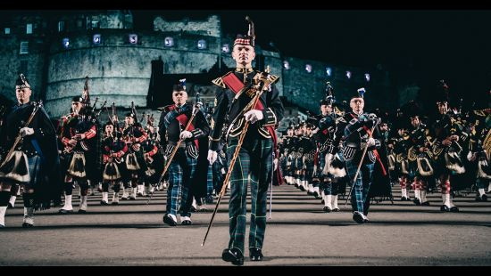 THE ROYAL EDINBURGH MILITARY TATTOO STORMS INTO ANZ STADIUM IN 2019