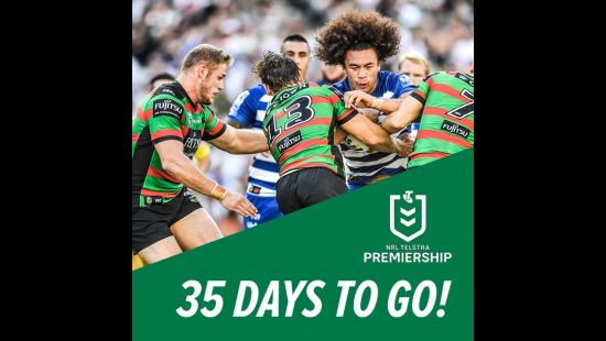 THE COUNTDOWN IS ON . . . 35 DAYS TILL GOOD FRIDAY BLOCKBUSTER AT ANZ STADIUM!