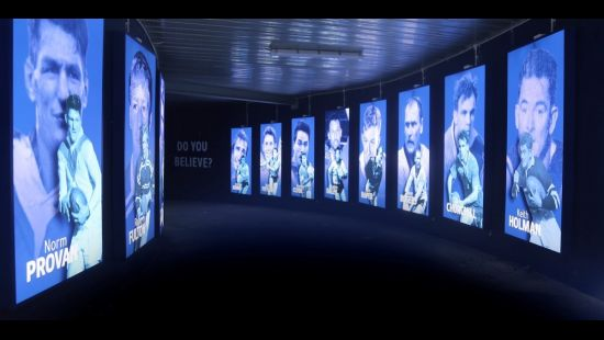 NSW BLUES TO MAKE HISTORIC TUNNEL WALK THROUGH TO ANZ STADIUM FOR ORIGIN III