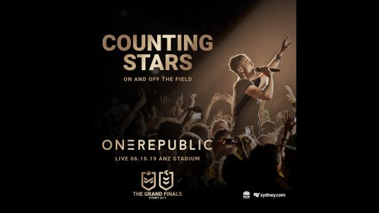 WORLD-RENOWNED ONEREPUBLIC TO HEADLINE 2019 NRL TELSTRA PREMIERSHIP GRAND FINAL PRE-GAME SHOW