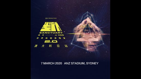 JJ LIN SET TO BRING HIS SANCTUARY 2.O WORLD TOUR TO ANZ STADIUM FOR A ONE-OFF EXTRAVAGANZA