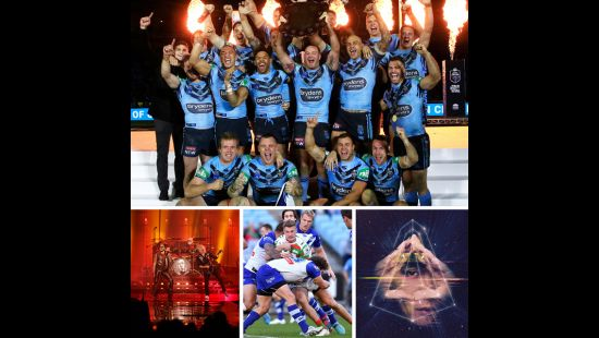 HUGE SIX MONTHS OF SPORT & ENTERTAINMENT AT ANZ STADIUM