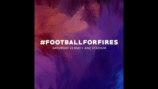 GLOBAL STARS TO FEATURE IN FOOTBALL FOR FIRES EXHIBITION MATCH IN SYDNEY HONOURING THOUSANDS OF BRAVE VOLUNTEERS