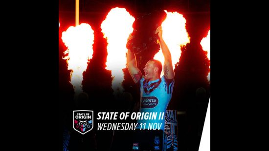 STATE OF ORIGIN GAME II LOCKED IN FOR ANZ STADIUM WEDNESDAY 11 NOVEMBER 2020