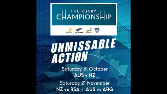 IT'S WALLABIES V ALL BLACKS SATURDAY 31 OCTOBER AT ANZ STADIUM