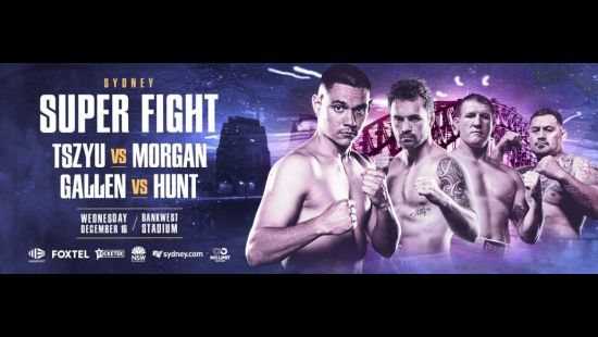 Sydney Superfight: Historic Double-Header Boxing Event at Bankwest Stadium 16 December