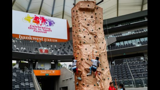 Western Sydney Teenagers Reach for the Stars at Celebrating Girls in Sport Festival at Bankwest Stadium