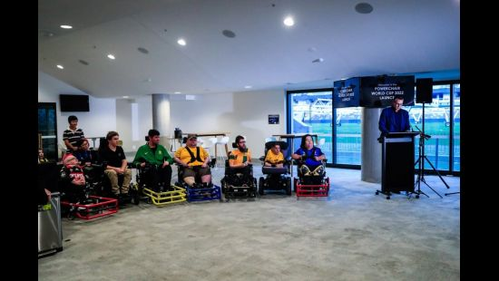 2022 FIPFA Powerchair Football World Cup Launched at Bankwest Stadium