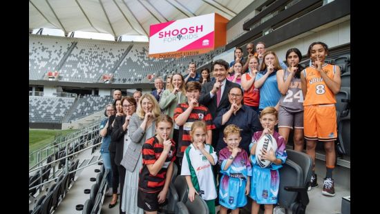 NSW Government Launches 'Shoosh For Kids' Campaign at Bankwest Stadium