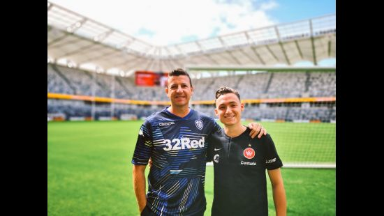 100 days to go until Western Sydney Wanderers v Leeds United at Bankwest Stadium