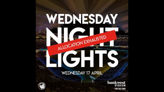 Allocation Exhausted for Wednesday Night Lights