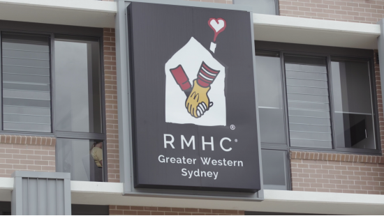 Bankwest Stadium proud to officially partner with Ronald McDonald House