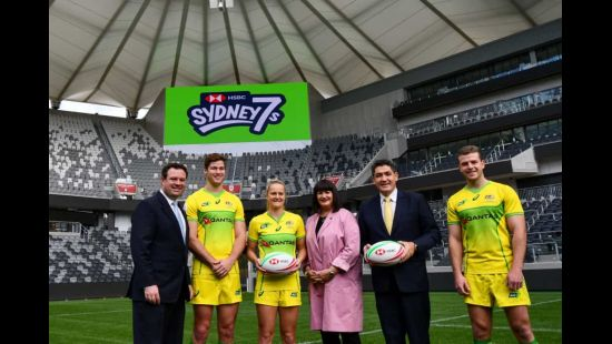 Rugby Australia Media Release: 2020 HSBC Sydney 7s locked in at Bankwest Stadium this February