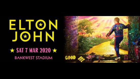 Music icon Elton John the latest major event confirmed for Bankwest Stadium