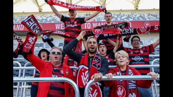 Safe standing installed at Bankwest Stadium one month out from Wanderers v Leeds