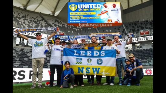 Leeds United fans to take over Bankwest Stadium next month for Wanderers v Leeds