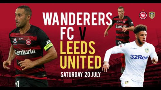 Western Sydney Wanderers name squad for Leeds United game at Bankwest Stadium on 20 July