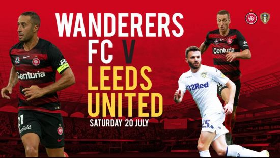 Win for fans with transport included in tickets for Wanderers v Leeds at Bankwest Stadium on Saturda