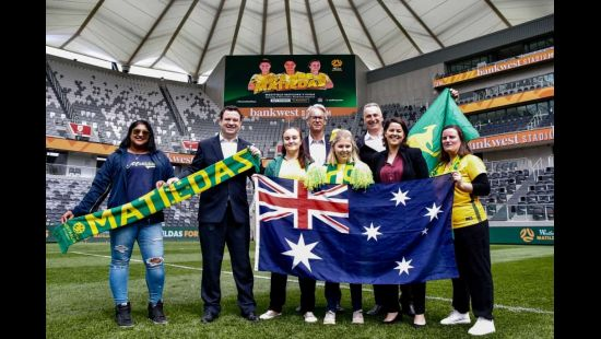 Westfield Matildas to play Chile at Bankwest Stadium this November in first international football game at the venue