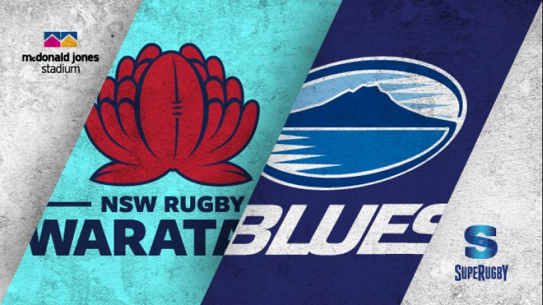 NSW Waratahs V Auckland Blues