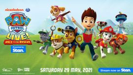 "PAW Patrol Live! ""Race to the Rescue"" - Rescheduled"