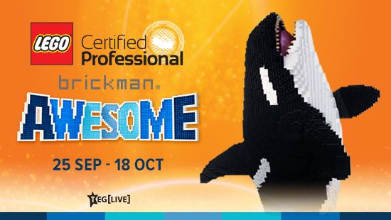 Brickman Awesome is coming to Newcastle these school holidays!