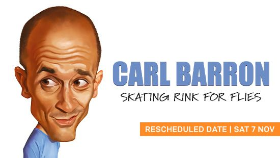 Carl Barron's performance at the Newcastle Entertainment Centre - Rescheduled