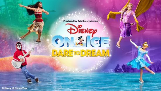 Disney On Ice presents Dare to Dream at the Newcastle Entertainment Centre in 2020!