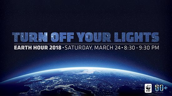 Newcastle Entertainment Centre - Earth Hour 2018