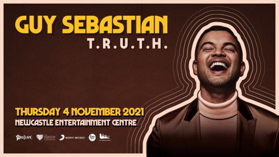 Guy Sebastian's T.R.U.T.H. Tour is heading to the Newcastle Entertainment Centre in 2021!
