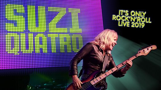 Suzi Quatro announced for Friday 8 November at the Newcastle Entertainment Centre!
