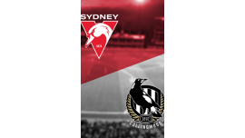 AFL: Sydney Swans v Collingwood Magpies