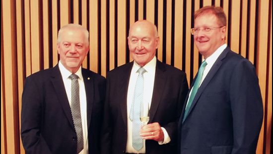 NSWRL Centre of Excellence lecture theatre named after Venues NSW Deputy Chairman John Quayle