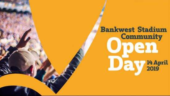Bankwest Stadium to host free community Open Day on April 14