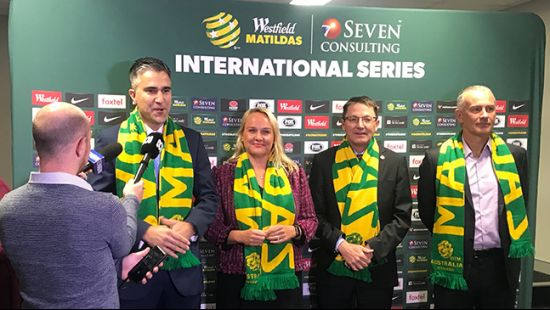 International football right at home in NSW with Matildas taking on Chile